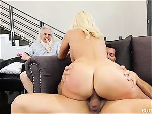 Athena Palomino - My lazy spouse should observe how real fellows action