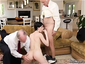 ginormous buttfuck internal cumshot and amateur fake penis rail suck off She even gets caboose fucked until the dudes
