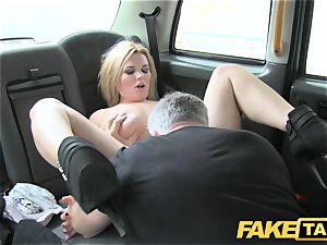 faux cab large congenital bosoms on blondie model