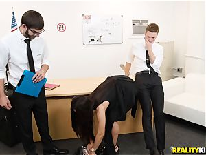 Kristall Rush gets double penetration