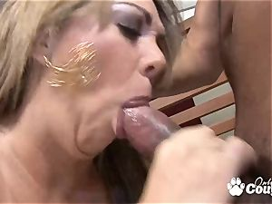 backside blonde milf analized by pink cigar