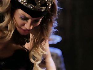 Mean princess Jessica Drake in super-hot boning parody