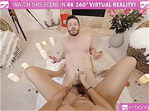 VR porn - Thanksgiving Dinner becomes ultra-kinky pounding