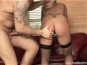 blonde mummy wishes anal sex