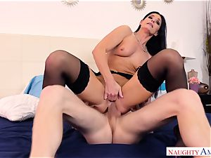 India Summers plowed in her ass hole