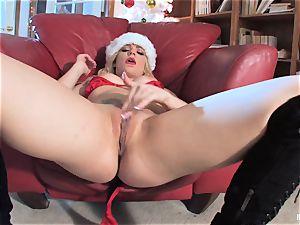 Bailey Blue is Santa's crazy lil' hel