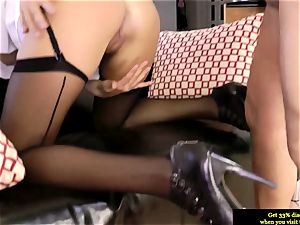 elegant brit babe bum-fucked by senior fellow and loves it