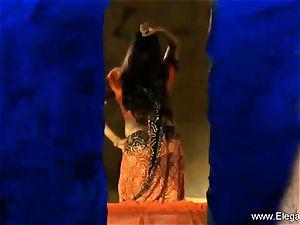 old-school Indian Dancer