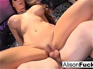 huge-titted Alison gets screwed rock hard