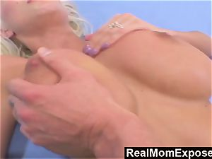RealMomExposed sate plow My massive breasted mother