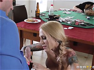 Sarah Jessie romping her spouses poker pal