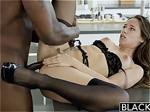 BLACKED My gfs super-steamy sister Cassidy Klein likes big black cock