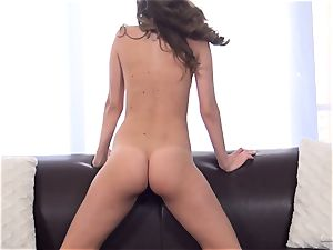 Kimmy Granger pumps out at her audition
