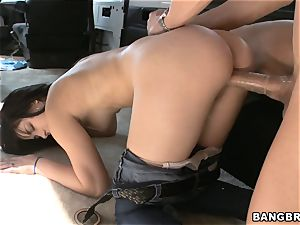 Mandy Sky picked up and plumbed