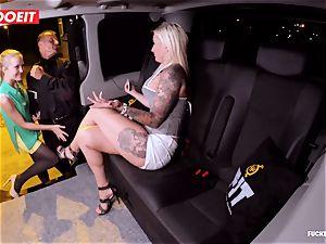 LETSDOEIT - fortunate cab Driver Bones 2 steamy Blondes