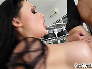 It's anal exploration for Alien by two studs