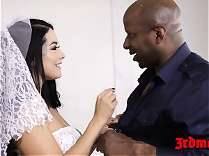 cheating bride creampied by a bbc