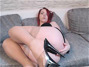 nubile doll Nina devil showcases off her hot bod