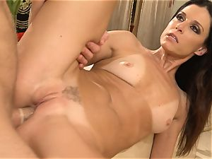 mummy India Summers gets analled in the douche