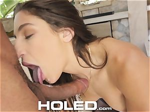 HOLED tight fit for taut culo Abella Danger