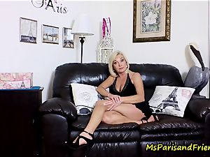 jizz on Mommy's tits with Ms Paris Rose