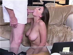 Latino father and bisexual hotwife stud first-ever time Ivy impresses with her phat orbs and ass
