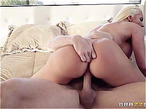big-boobed cowgirl rails a wonderful stallion