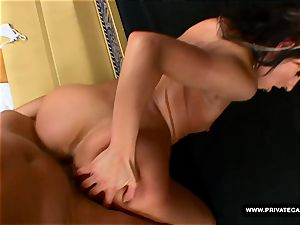 Czech Victoria Rose Visits Private's audition couch
