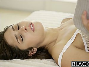 BLACKED style Model Anna Mornas first-ever Time With A big black cock