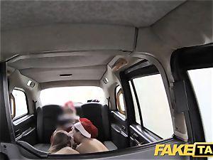 fake taxi Xmas theme exclusive santa buttfuck boinks 2 elves