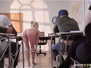 Christie Stevens arched over and porked doggie-style