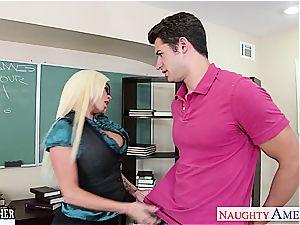 hook-up tutor Nikita Von James bang