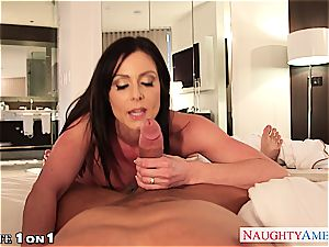 Housewife Kendra eagerness take trunk in pov fashion