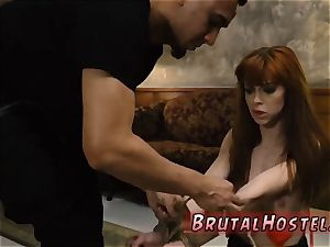 marionette gang pulverize handsome young nymphs, Alexa Nova and Kendall woods, take a train-ride to