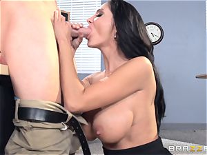 big-chested schoolteacher Ava Addams is nailed by her schoolgirl