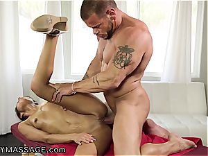 Katya Rodriguez touches him all over