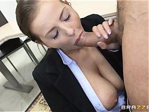 magnificent Candy Alexa tears up a boy schoolgirl