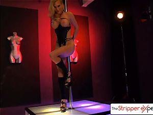 The StripperExperience- Sarah Jessie porking a thick manhood
