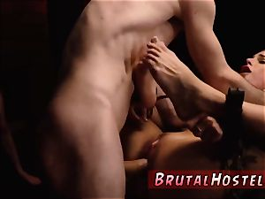 Muscle girl predominance hardcore two youthfull breezies, Sydney Cole and Olivia Lua, our down